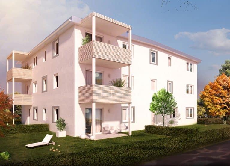ÖKO-Kompakt Wohnbauten all-in99 St. Florian/Inn und Hartberg/STMK.