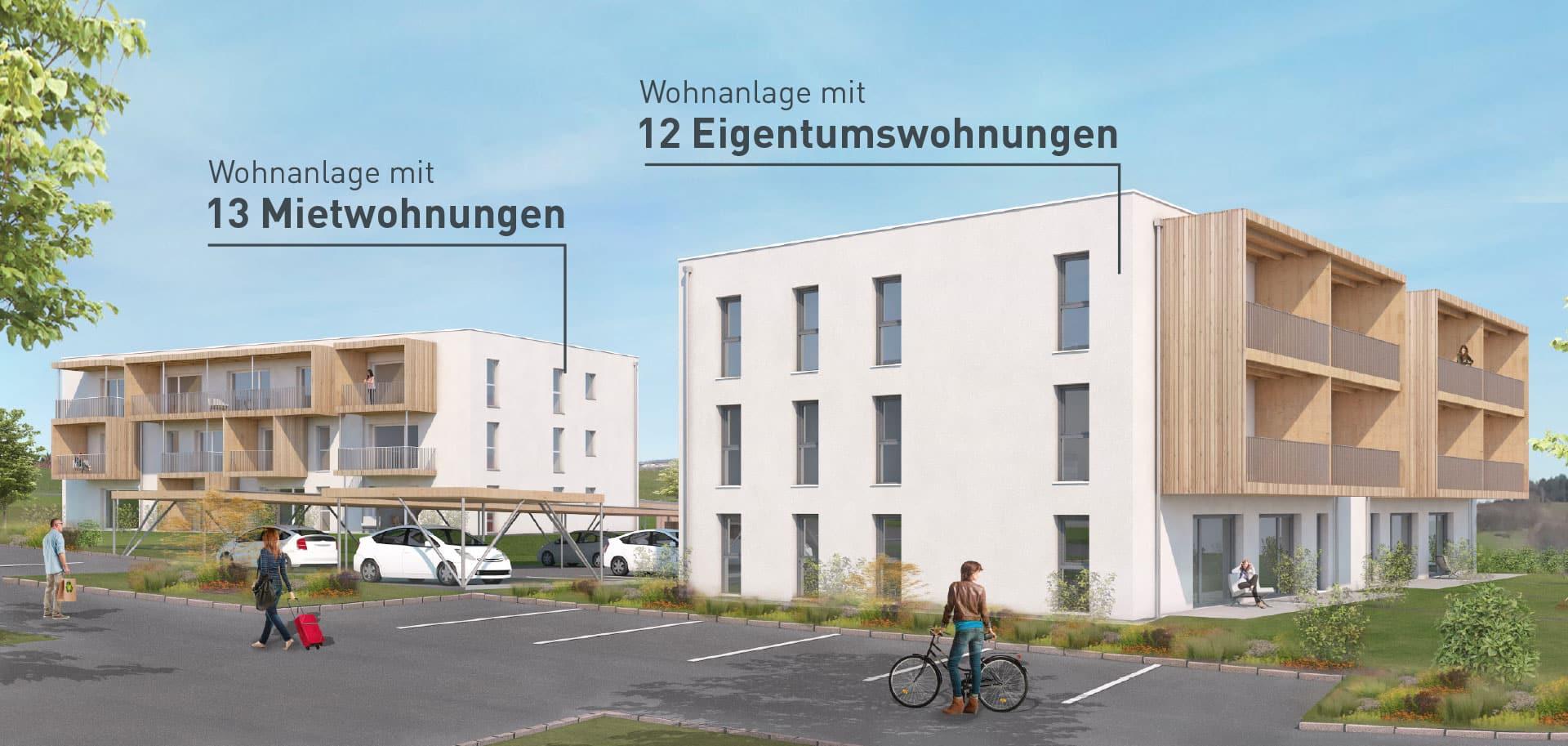 Wohnprojekt Prambachkirchen: Austattung