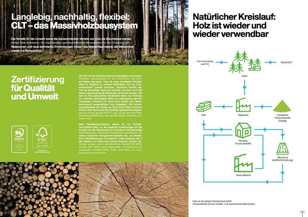 Baustoff Holz: Wiederverwertbar!