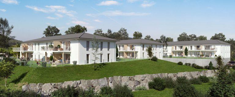 Visualisierung der Eigentumswohnungen Froeschlpoint in Adlwang